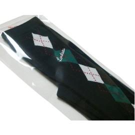 リンジィ「アーガイル柄オーバーニーソックス」(23-25cm)