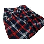 リンジィ「チェックバルーンスカート」(150-160cm)