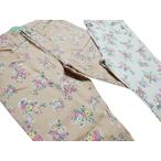リンジィ「花柄ストレッチストレートパンツ」(150-160cm)