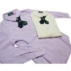 リンジィ「クロスタイ付きピンタックシャツ」(150-160cm)